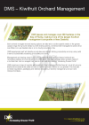 DMS Kiwifruit orchard management